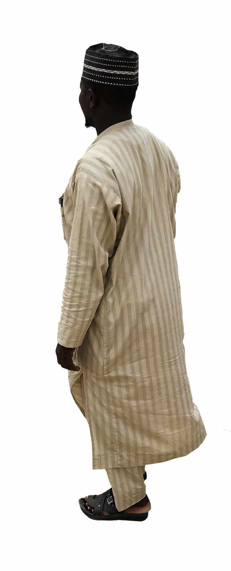 African Man in Traditional clothes